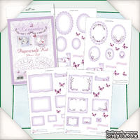 Заготовки для Flower Soft - Lavender Papercraft Kit, 4 шт.
