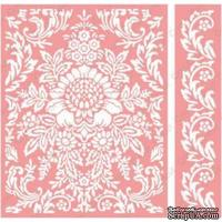 Папка для тиснения от Cuttlebug - Anna Griffin Damask -Cuttlebug A2 Set