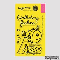 Ножи (310069) + Штампы (271064) от Waffle Flower - Birthday Fishes Die