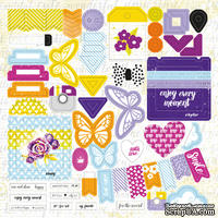 Лист высечек от Lemon Owl - Plans for Today, Die Cuts #02