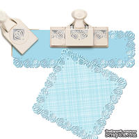 Набор дыроколов Martha Stewart Punch Around The Page Large Butterfly Lace