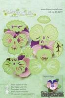 Лезвия от LeCreaDesign - Multi die flower 003 Pansy, 8 элементов