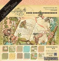 Набор скрапбумаги и декора Graphic 45 - Once Upon a Springtime—Deluxe Collector's Edition, 30х30 см