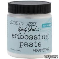 Паста для эмбоссинга Studio 490 Embossing Paste - Transluscent