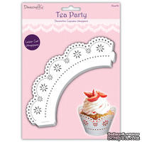 Обертки - Tea Party Cupcake Wrappers - Love, 12 шт