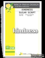 Нож от Birch Press Design - Kindness sugar script