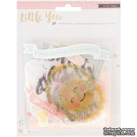 Высечки Crate Paper Little You Ephemera - Girl, 37 шт