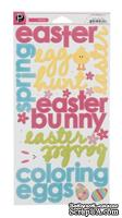 Наклейки - American Crafts - Easter Time Words