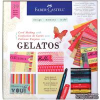 Набор от Faber Castell  - Card Making Kit With Gelatos, 39 эл.
