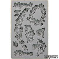 Молды силиконовые  от Prima - Iron Orchid Designs Vintage Art Decor Mould -  Fleur