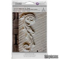 Молды силиконовые от Prima - Iron Orchid Designs Vintage Art Decor Mould - Large Flourish