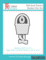 Нож для вырубки от Lil' Inker Designs - Stitched Easter Basket Die Set