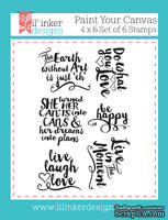 Штампы от Lil' Inker Designs - Paint Your Canvas Stamps