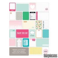 Мини-набор Project Life by Becky Higgins - Themed Cards - Teen Girl, 60 шт