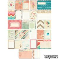 Мини-набор Project Life by Becky Higgins - Themed Cards - Summer, 60 шт