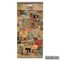 Наклейки Tim Holtz - Ideaology - Salvage Stickers - Lost and Found, 379 штук