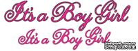 Лезвия It's a Boy Girl Phrases от Cheery Lynn Designs, 8 шт.