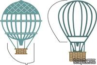Нож для вырубки от Cheery Lynn Designs - Hot Air Balloons w/Angel Wing