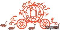 Ножи от Cheery Lynn Designs -Pumpkin Carriage with Mice