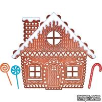 Ножи от Cheery Lynn Designs - Gingerbread House