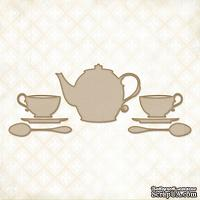 Чипборд Blue Fern Studios - Tea with Ginger