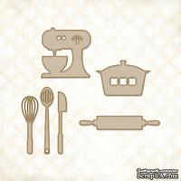 Чипборд Blue Fern Studios - Cute Kitchen Set