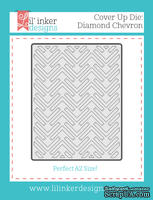 Нож для вырубки от Lil' Inker Designs - Cover Up Die: Diamond Chevron