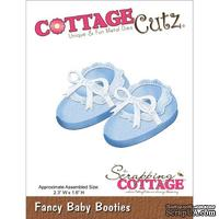 Лезвие CottageCutz - Fancy Baby Booties