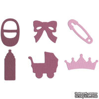 Лезвие Lifestyle Crafts - QuicKutz - Baby Shapes (girl)