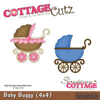 Лезвие CottageCutz - Baby Buggy, 10х10 см