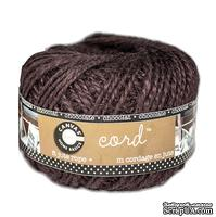Шнур джутовый Canvas Corp - Jute Cord Ball - Chocolate, 1 м