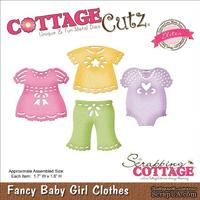 Лезвие CottageCutz - Elites Die - Baby Girl Clothes