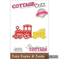 Лезвие CottageCutz - Elites Die - Train Engine & Tender