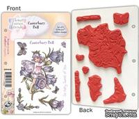 Набор штампов от Crafter's Companion -  Flower Fairy EZMount Stamp Set - Canterbury Bell