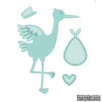 Лезвие Sue Wilson - New Arrival Collection-Stork and Baby