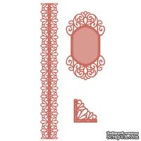 Лезвие Sue Wilson - Scandinavian Collection - Corner, Border, Tag