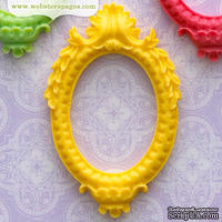 Украшение Webster's Pages - Рамочка - Frame Accents: Yellow, 1 шт.