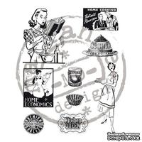 Набор акриловых штампов Marianne Design - Clear Stamps - Fabulous Fifties Kitchen Set