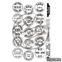 Набор акриловых штампов Marianne Design - Clear Stamps - Mail Around the World