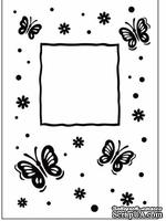 Папка для тиснения Crafts Too Embossing Folder - Butterfly Frame