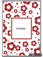 Папка для тиснения Crafts Too Embossing Folder - Flowers Frame