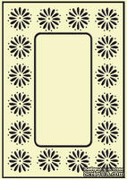 Папка для тиснения Crafts Too Embossing Folder - Daisy Frame