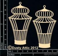 Чипборд от Dusty Attic - Birdcage №7, 2 шт.