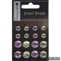 Брадсы Dovecraft - Jewel Brads – Lilac and Green