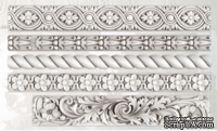 Молды от IOD - Trimmings 2 6x10 Decor Moulds™, 15x26 см - ScrapUA.com