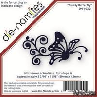 Лезвие Die-Namites - Swirly Butterfly