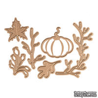 Ножи от Spellbinders - Fall/Thanksgiving Die Set - Small Die of the Month Club - ScrapUA.com