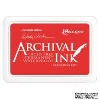 Архивные чернила Ranger - Archival Ink Pads - Carnation Red