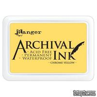 Архивные чернила Ranger - Archival Ink Pads - Chrome Yellow