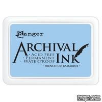 Архивные чернила Ranger - Archival Ink Pads - French Ultramarine